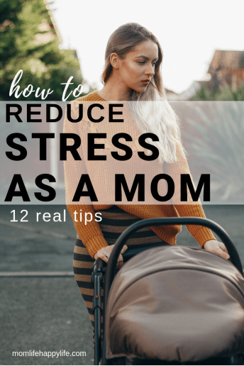 How to reduce stress as a mom