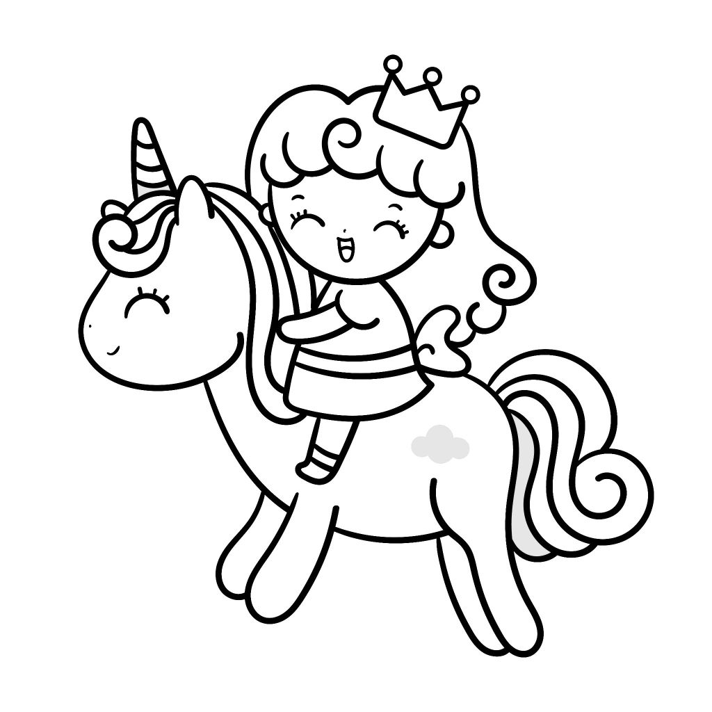 The Cutest Princess Coloring Pages For Free Momlifehappylife