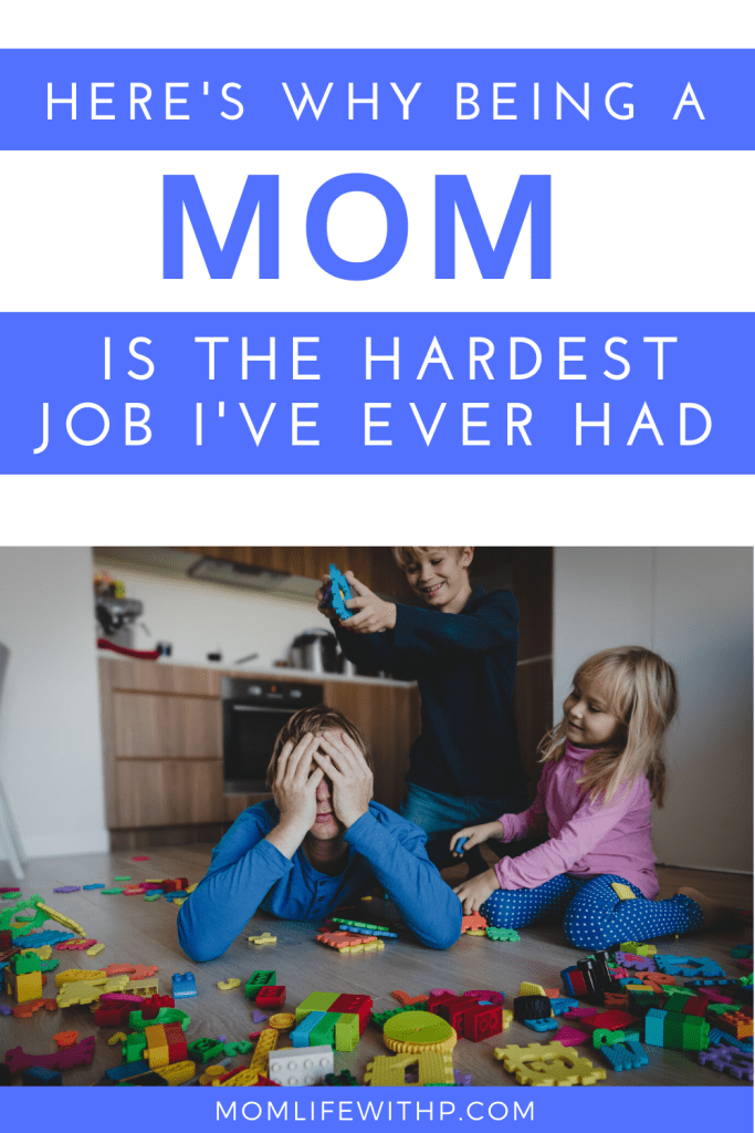 I always thought being a stay at home mom was easy. But this is why I soon realized that being a mom period, is the hardest job I've ever had! #momlife #stayathomemomstruggles