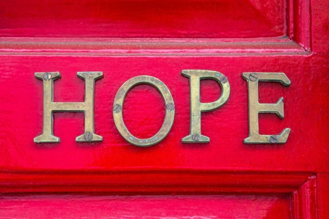 Offering hope is important when someone is depressed