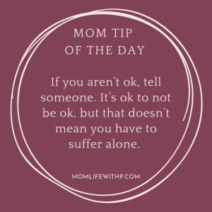 tip for moms with depression