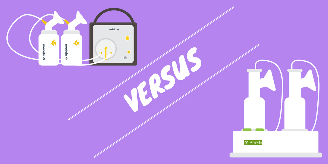 Ameda Purely Yours vs Medela Pump In Style (2020 ...