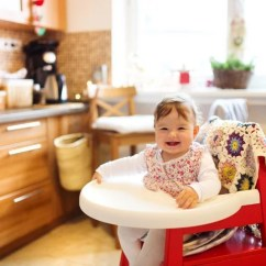 Best Folding High Chair Round Kitchen Table And Chairs Argos 7 On The Market 2019 Reviews Baby Girl Sitting In A
