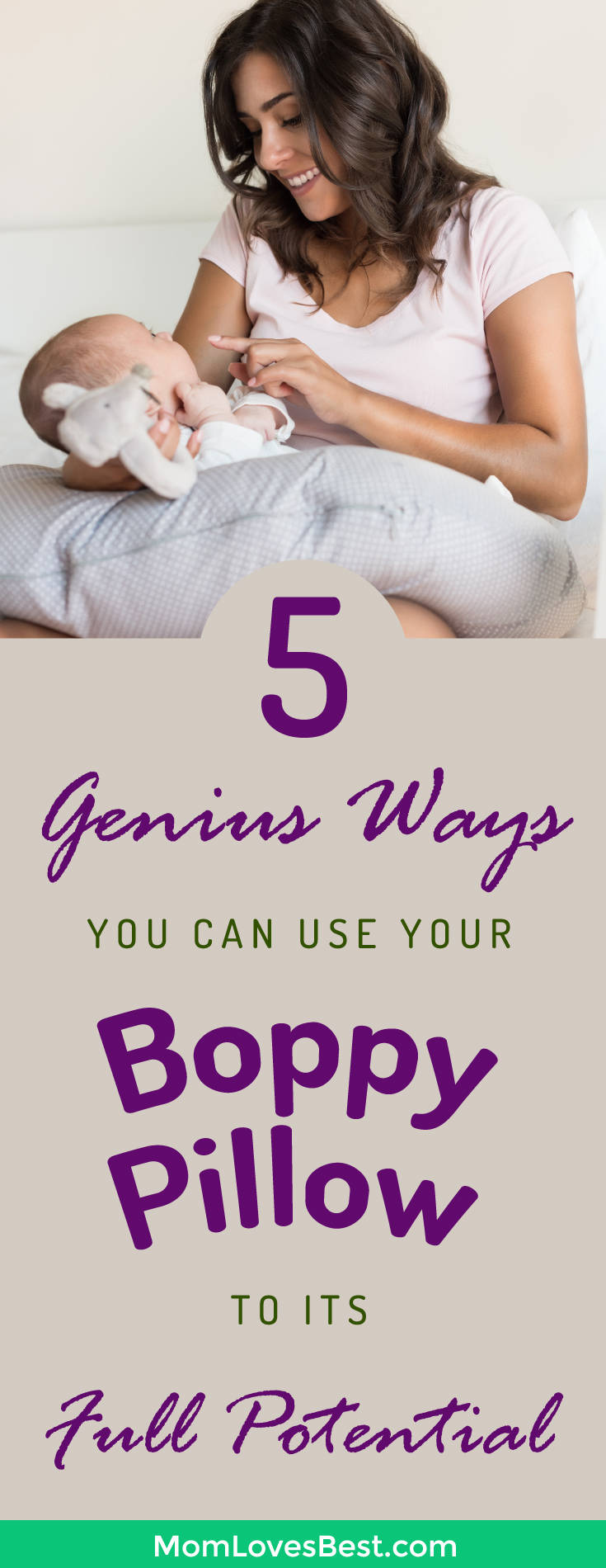How to Use a Boppy Pillow for Breastfeeding Tummy Time  More