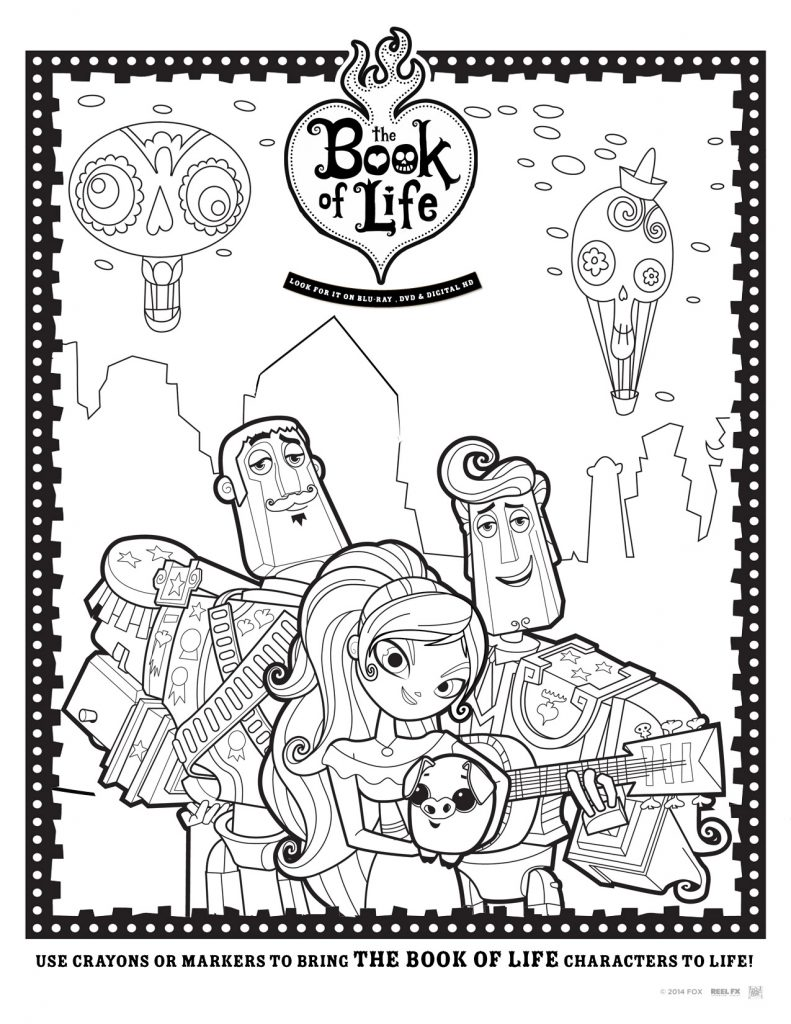 Family Movie Night with The Book of Life Movie