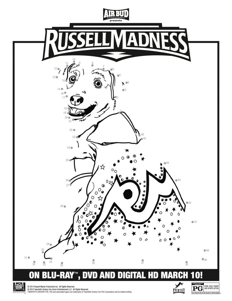 Russell Madness DVD Giveaway and Printable Activity Sheets