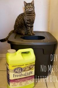 DIY Mess Free Cat Litter Box - Mom Luck