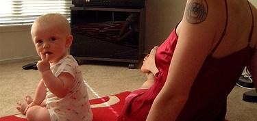 baby watch tv