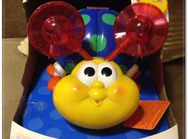 [開箱]費雪嬰兒玩具推薦-爬行小蟲蟲玩具 4