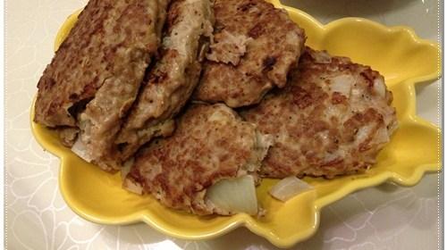 [P家廚房]漢堡肉作法+馬鈴薯泥食譜 1