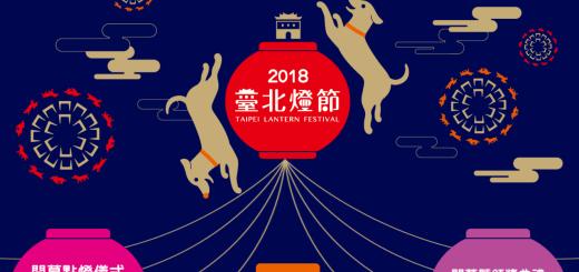 台北燈節 2018 地點、賞燈路線