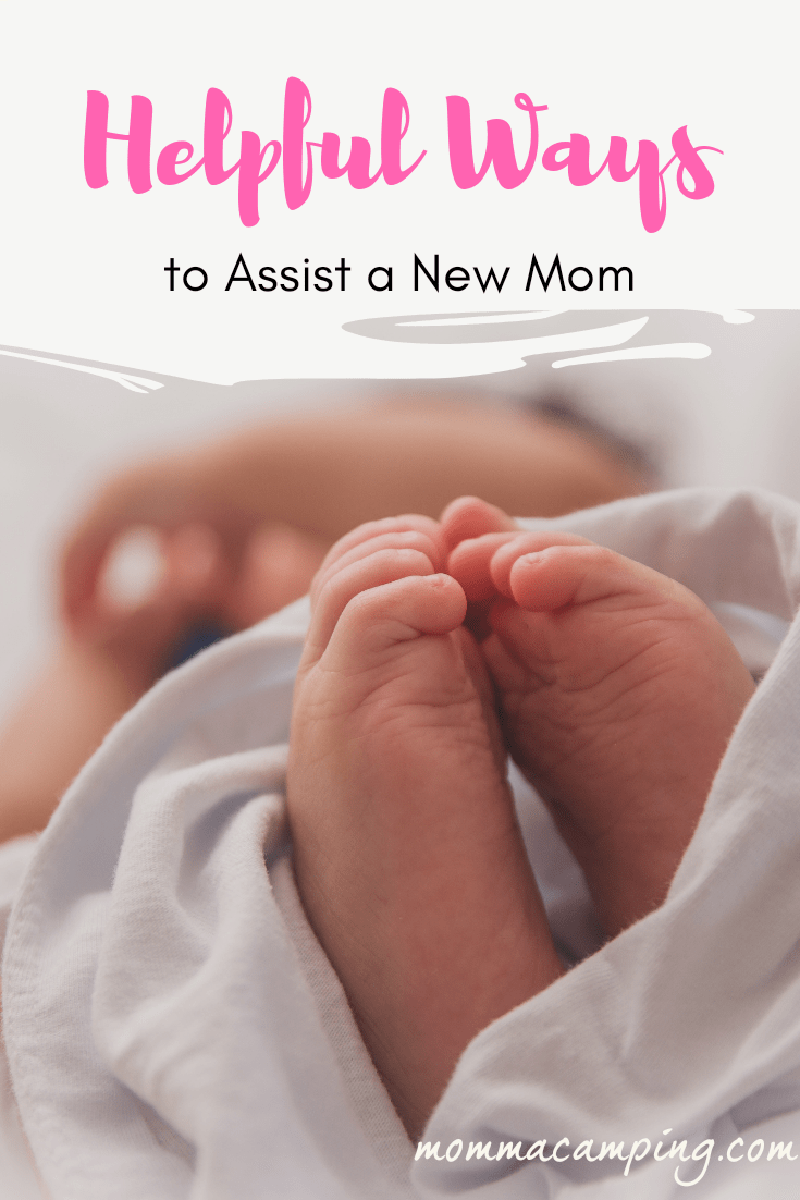 5 Ways to Help New Moms #helpingmom #newmom #motherhood