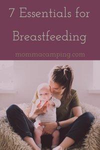 7 Essentials for Breastfeeding #breastfeedingessentials #breastfeedingjourney #breastfeeding #newmotherhood #breastfeedingmusthaves