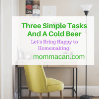 Three Simple Tasks and a Cold Beer