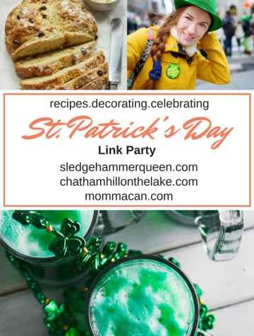 Celebrate Saint Patrick's Day, Get nosy and check out our Linky Party
