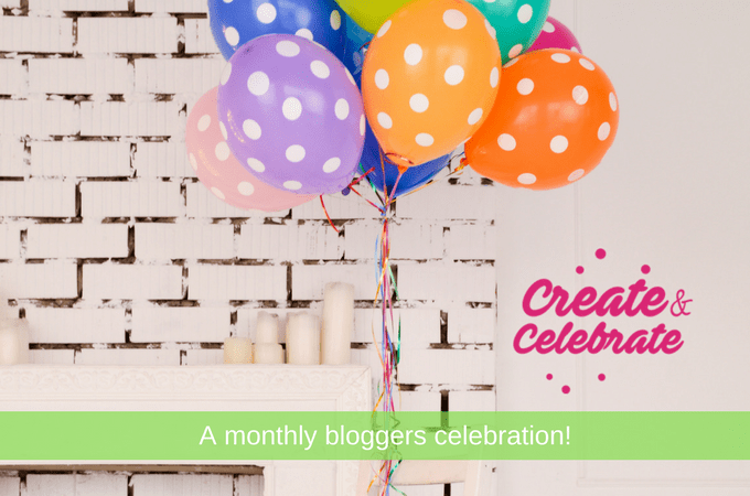 Calling all bloggers to come join the party! The April Create and Celebrate just popped the cork and lit the candles!