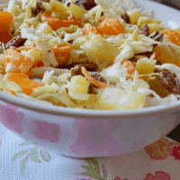 Pineapple Orange Coleslaw Recipe