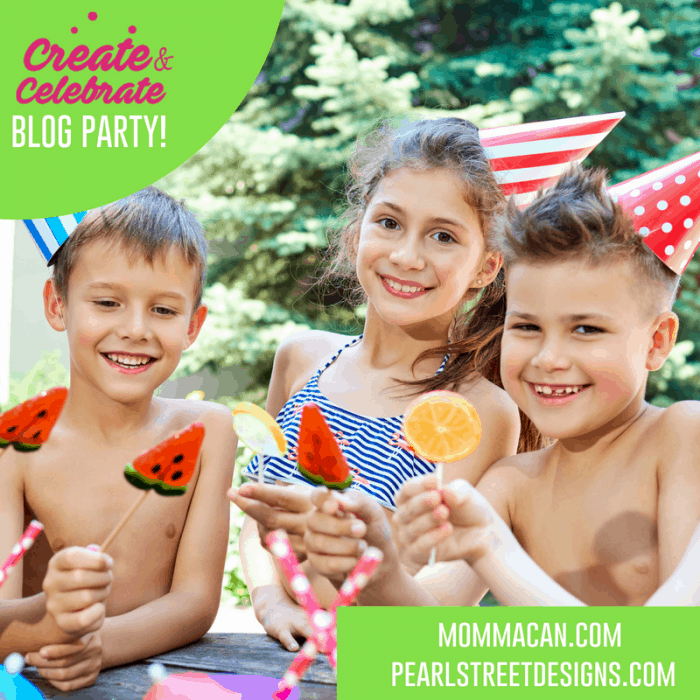 Create and Celebrate Blog Party Summer Edition