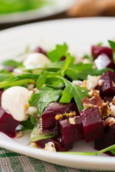 Beautiful Beet and Burrata Salad
