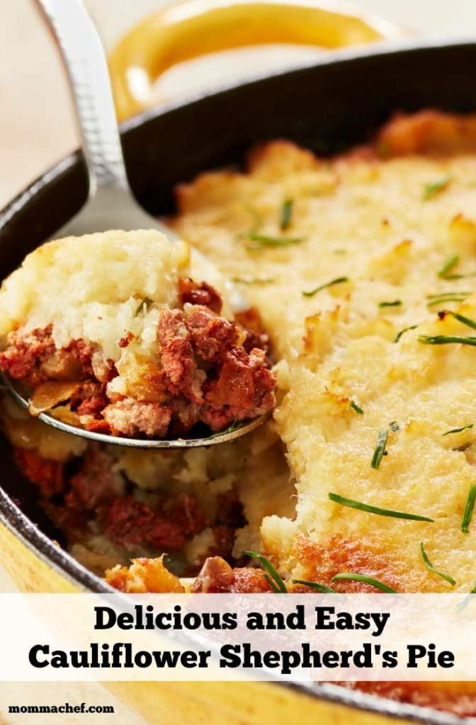 Quick and Easy Skillet Shepherd's Pie With Cauliflower Mash Recipe