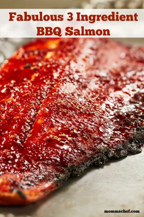 Quick and Easy 3 Ingredient BBQ Salmon Recipe