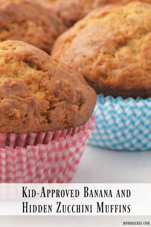 Super Easy and Kid-Approved Delicious Hidden Zucchini Muffin Recipe