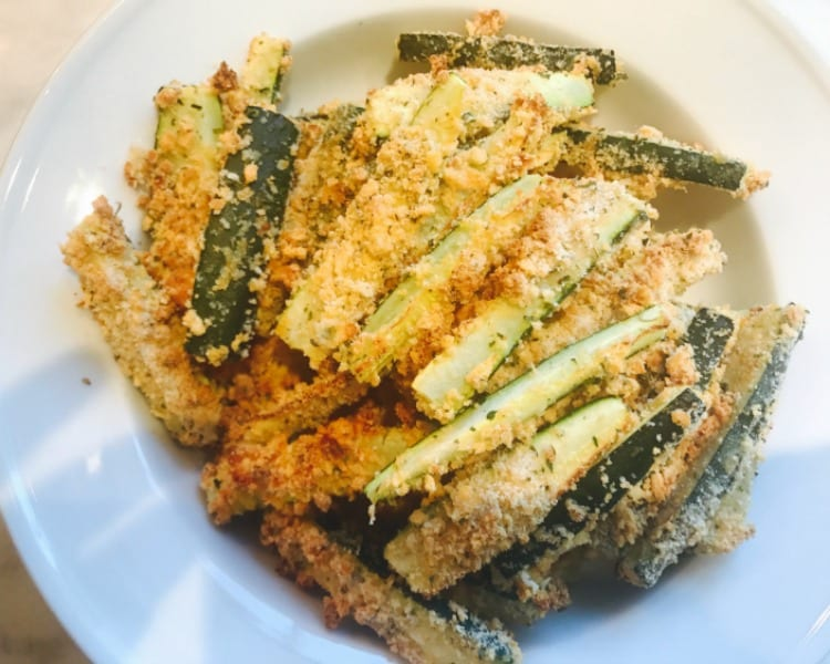 Quick and Easy Healthy Zucchini Fries Recipe