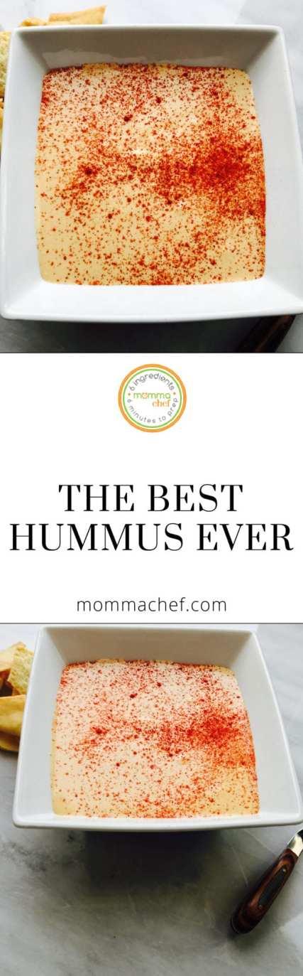 Quick and Easy Hummus Recipe