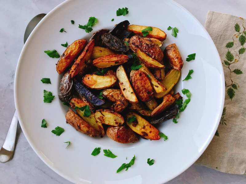 Simply Delicious Roasted Potatoes
