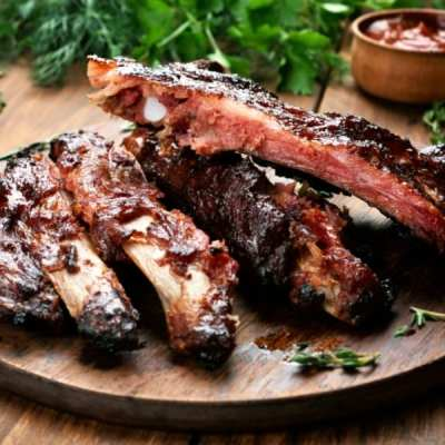 Easy and Delicious 3 Ingredient Baked Ribs