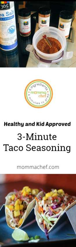 Quick and Easy Taco Seasoning