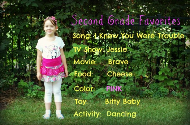 Second Grade Favorites