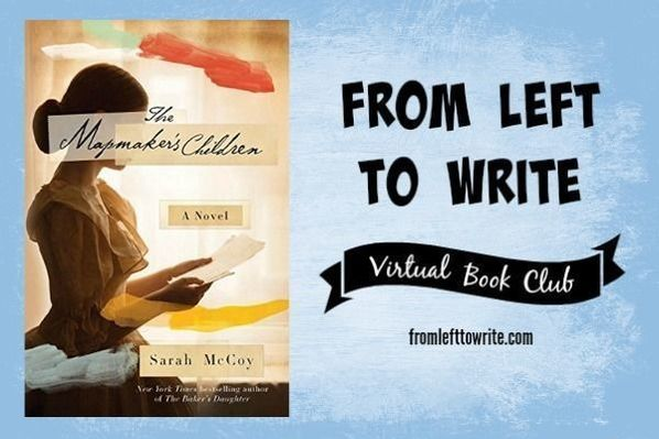 From Left to Write bookclub discusses The Mapmaker's Children - #FL2W