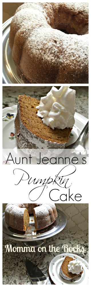 Pumpkin Cake Pinterest