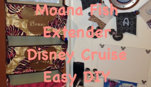 Disney Cruise DIY Moana Fish Extender