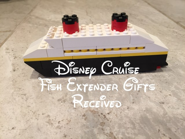 Disney Cruise Fish Extender Gifts Received