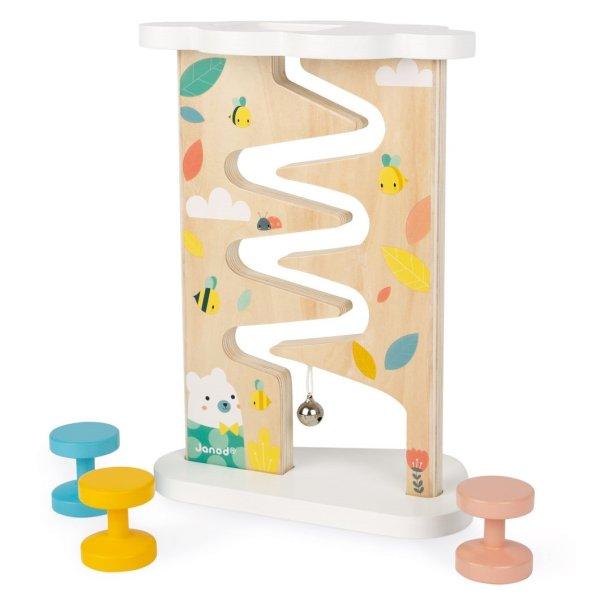 משחקי עץ צעצועי עץ - מסלול - Mom & Me