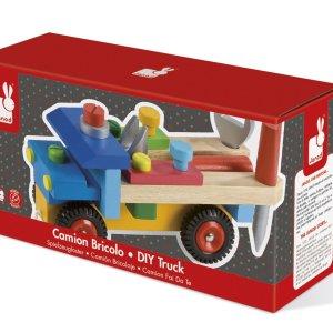 משחקי עץ משאית כלי העבודה - Mom & Me