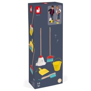 משחקי דמיון סט כלי ניקיון - 5 פריטים - Mom & Me
