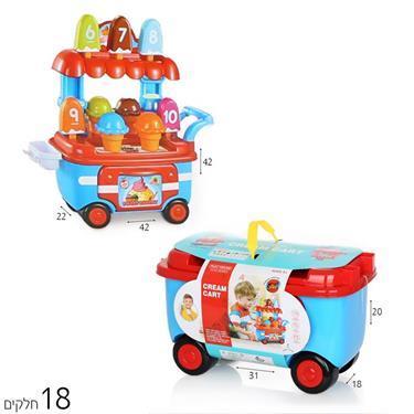 משחקי התפתחות עגלת גלידה - Mom & Me