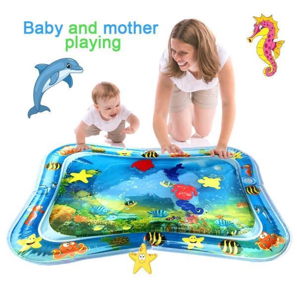 משטח פעילות מים מתנפח לתינוקות - Mom & Me