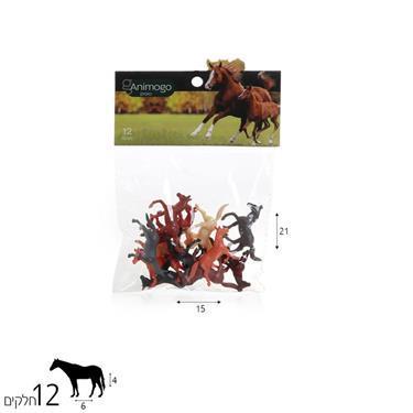 Animogo Animogo סוסים 12 יח' - Mom & Me