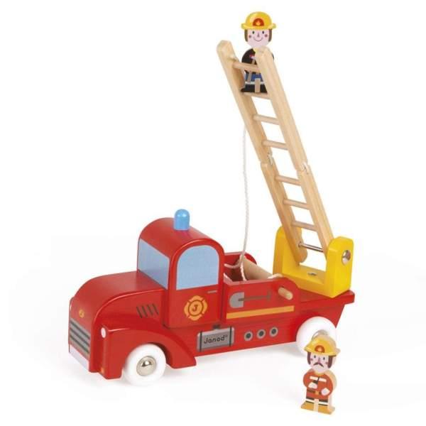 צעצועים כבאית משחק מעץ - Mom & Me