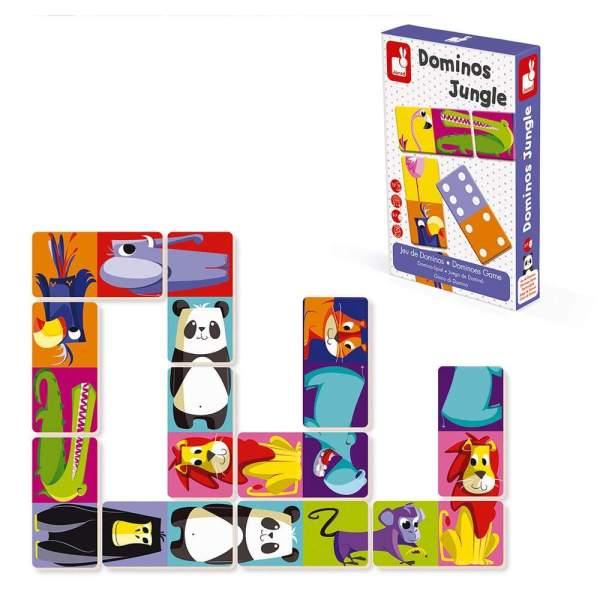 צעצועים דומינו ג'ונגל - Mom & Me