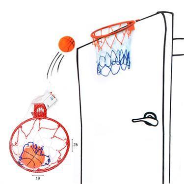 ספורט כדורסל לדלת - Mom & Me