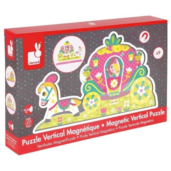 צעצועים פאזל מגנטי אנכי נסיכה - Mom & Me