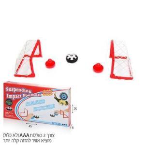משחקי חשיבה וקלפים הוקי שולחן כדורגל (כדור מוציא אוויר) בקופסא - Mom & Me