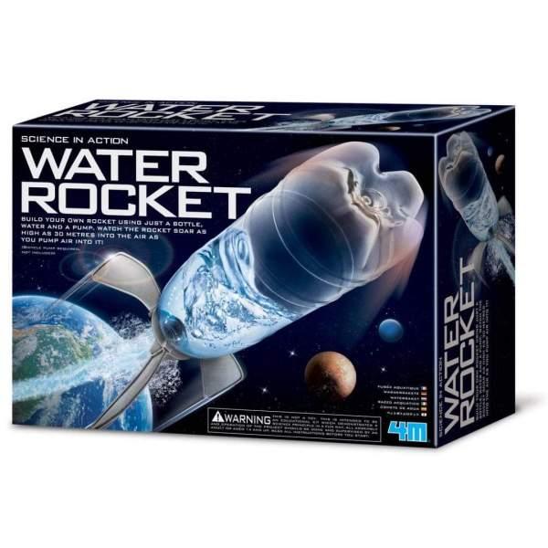 צעצועים מדע בפעולה - טיל מים - Mom & Me