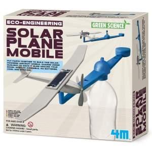 צעצועים מובייל מטוס סולארי - Mom & Me