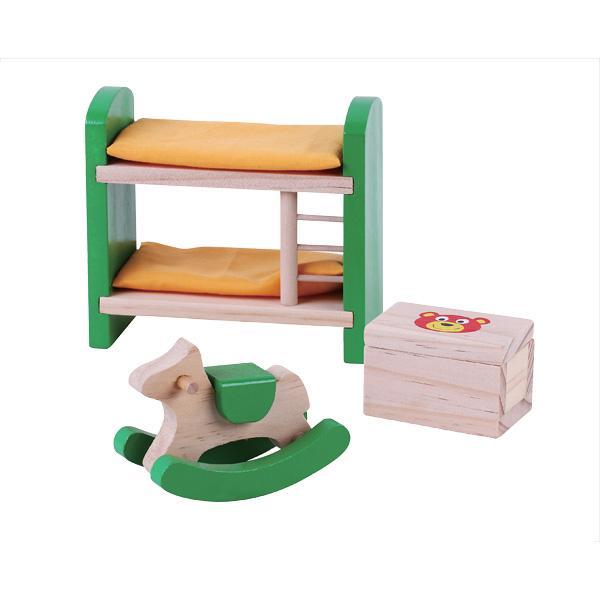 מוצרי עץ ריהוט חדר ילדים לבית בובות מעץ - מונטסורי - Mom & Me